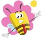 Lee the Business Bee - Shape 1