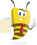 Lee the Business Bee - Sign 2