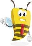 Lee the Business Bee - Thumbs Up