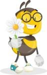 School Bee Cartoon Vector Character AKA Shelbee Sting - Book and iPad
