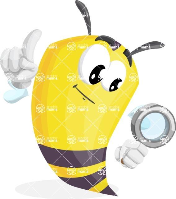 Bee Cartoon Vector Character AKA Mr. Bee Busy - Search