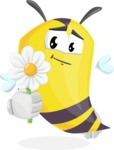 Bee Cartoon Vector Character AKA Mr. Bee Busy - Book and iPad