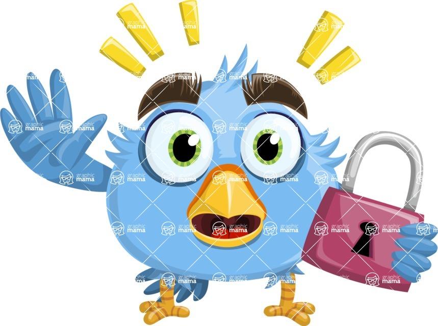 RoBird Plumage - Lock