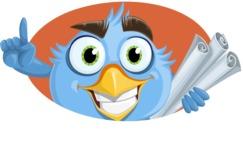 RoBird Plumage - Shape 4