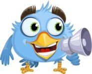 RoBird Plumage - Loudspeaker