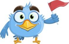 RoBird Plumage - Flag