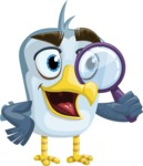 Seabird Cartoon Vector Character AKA Gulliver SeaBird - Search