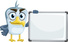 Seabird Cartoon Vector Character AKA Gulliver SeaBird - Presentation 5