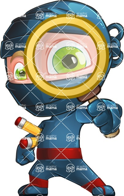 Ninja Warrior Cartoon Vector Character AKA Toshi - Search