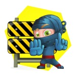 Toshi the Smart Ninja - Shape 4