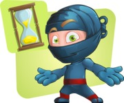 Toshi the Smart Ninja - Shape 9