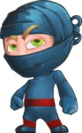 Toshi the Smart Ninja - Roll Eyes