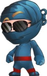 Toshi the Smart Ninja - Sunglasses 1