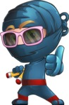 Toshi the Smart Ninja - Sunglasses 2