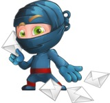 Toshi the Smart Ninja - Mail