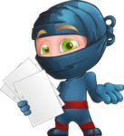 Toshi the Smart Ninja - Note 3