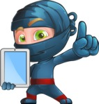 Toshi the Smart Ninja - Tablet 2