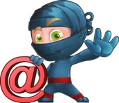Toshi the Smart Ninja - Web