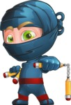 Toshi the Smart Ninja - Protect