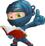 Toshi the Smart Ninja - Book