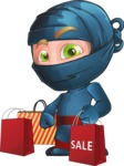 Toshi the Smart Ninja - Sale 1