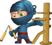 Toshi the Smart Ninja - Training