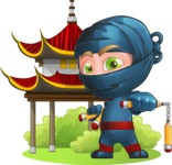 Toshi the Smart Ninja - Temple