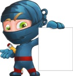 Toshi the Smart Ninja - Sign 2