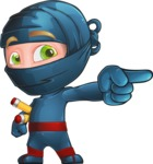 Toshi the Smart Ninja - Point 1