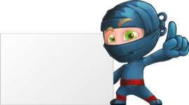 Toshi the Smart Ninja - Sign 5