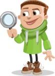 Boy with Hoodie Cartoon Vector Character AKA Hoody Cody - Search
