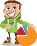 Boy with Hoodie Cartoon Vector Character AKA Hoody Cody - Chart