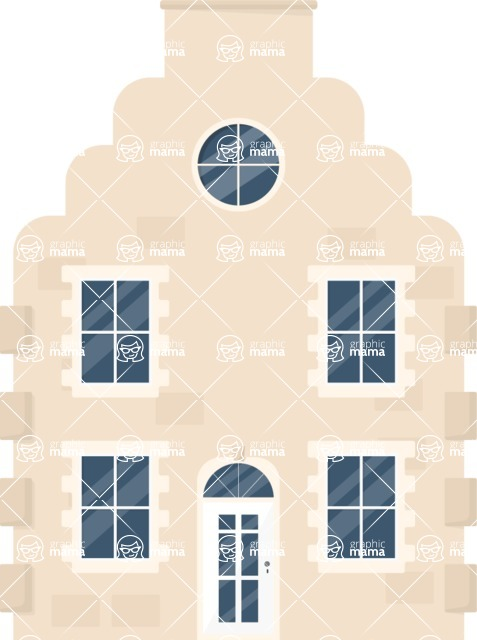 Building Vector Graphic Maker - Big fancy house