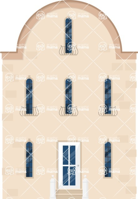 Building Vector Graphic Maker - Classy house