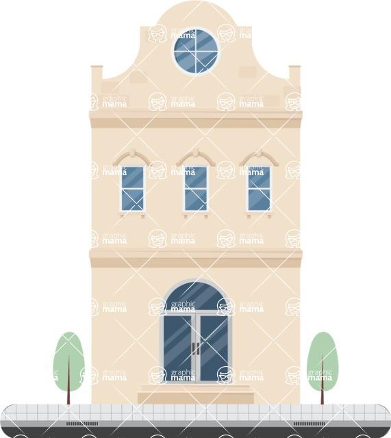 Building Vector Graphic Maker - Luxury building