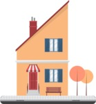 Building Vector Graphic Maker - Small house