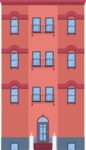 Building Vector Graphic Maker - Apartment building