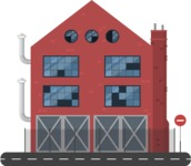 Building Vector Graphic Maker - City Factory