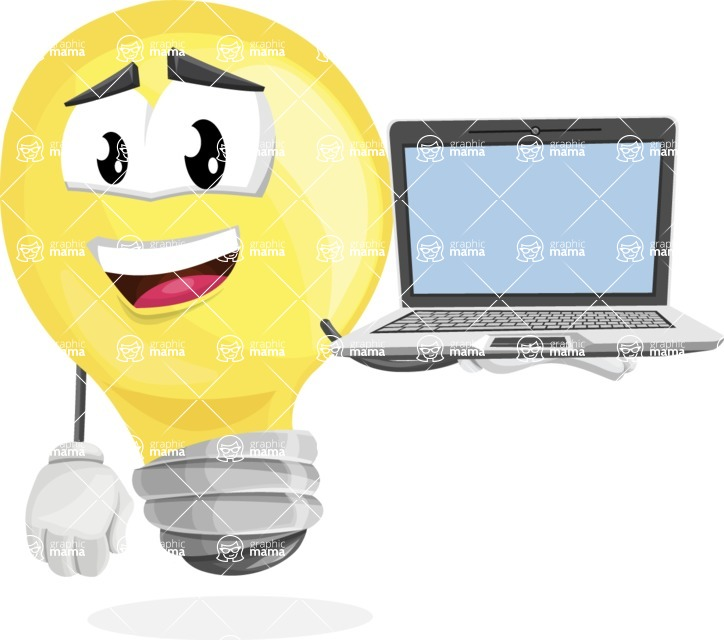 Mr. Bulb DeLight - Laptop 3