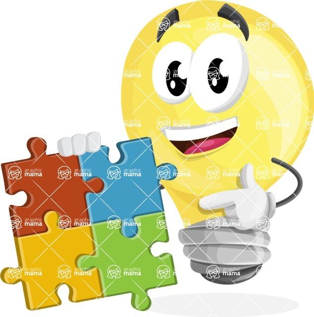 Mr. Bulb DeLight - Puzzle