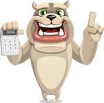 Rocky the Bulldog - Calculator