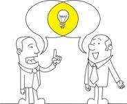 Businessmen Discussing Idea