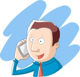 Business: Quest for Success - Businessman Talking on the Phone