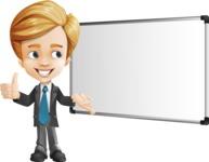 Business Kid Cartoon Vector Character AKA Sid - Presentation3