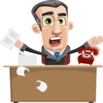 Funny Businessman Cartoon Vector Character AKA Frank - Search