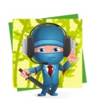 Hideki the Business Ninja - Shape 11