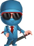 Hideki the Business Ninja - Sunglasses 1