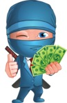 Hideki the Business Ninja - Show me the Money