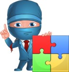Hideki the Business Ninja - Puzzle