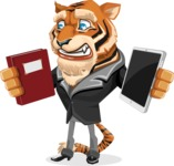Vice Tiger - Book and iPad